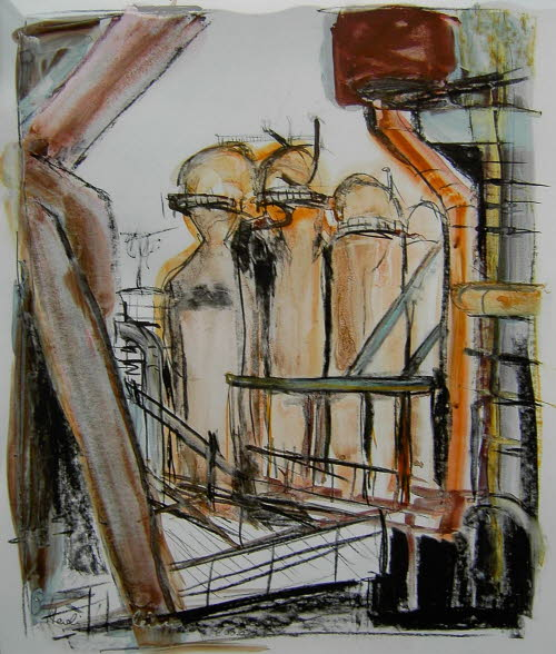 Industrielandschaft III
